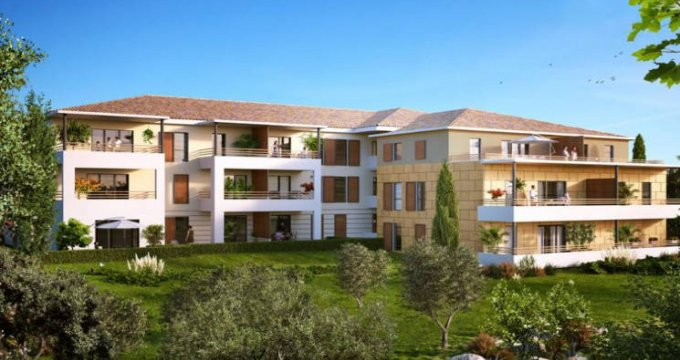 Achat / Vente programme immobilier neuf Aix-en-Provence au cœur du secteur Saint-Mitre (13090) - Réf. 4405
