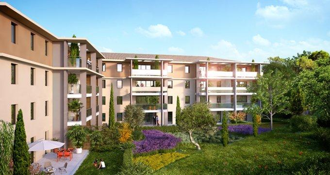 Achat / Vente programme immobilier neuf Aix-en-Provence Les Platanes (13090) - Réf. 1049