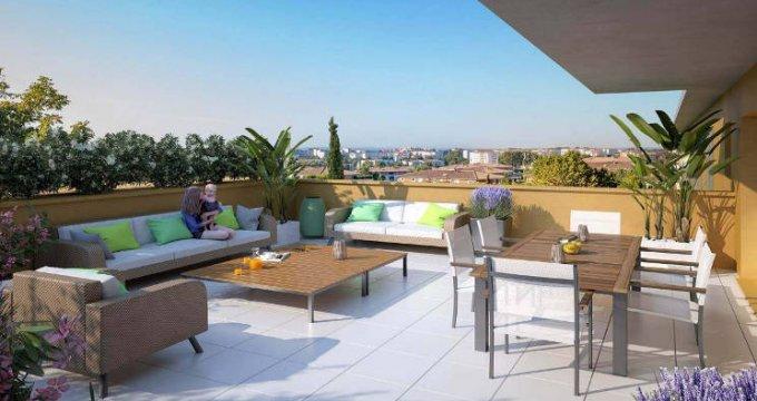 Achat / Vente programme immobilier neuf Aix-en-Provence niché dans le secteur de Saint-Mitre (13090) - Réf. 5996