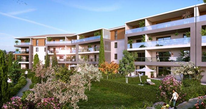 Achat / Vente programme immobilier neuf Aix-en-Provence proche du Centre commercial de Jas de Bouffan (13090) - Réf. 1358