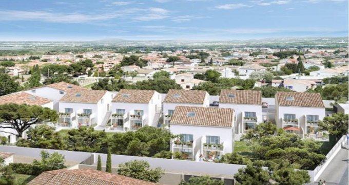 Achat / Vente programme immobilier neuf Châteauneuf-les-Martigues au cœur secteur (13220) - Réf. 3843