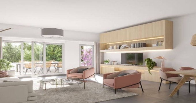 Achat / Vente programme immobilier neuf Cuges-Les-Pins proche nouveau quartier des Vigneaux (13780) - Réf. 3451