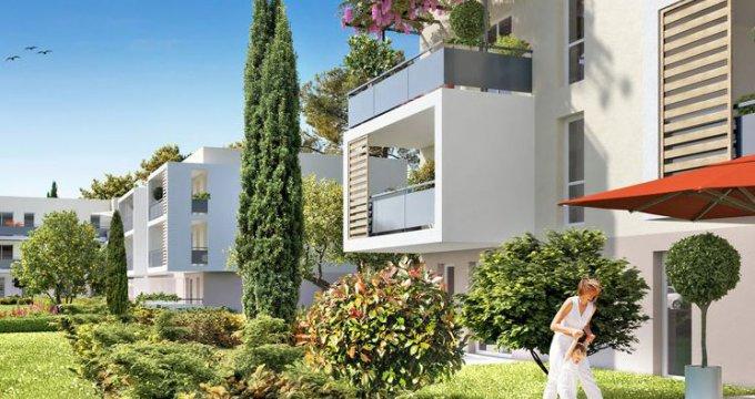 Achat / Vente programme immobilier neuf Gignac-la-Nerthe quartier Figuerolles (13180) - Réf. 1050