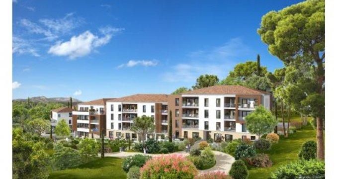 Achat / Vente programme immobilier neuf La Penne sur Huveaune proche des établissements scolaires (13821) - Réf. 1514