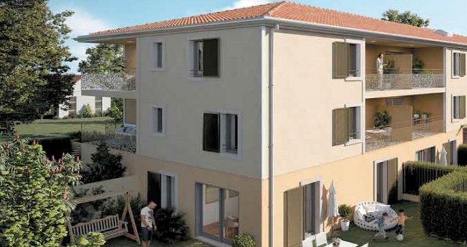 Achat / Vente programme immobilier neuf Lambesc au cœur du village (13410) - Réf. 5049