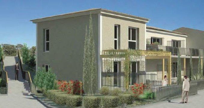 Achat / Vente programme immobilier neuf Lançon-Provence proche Roquilles (13680) - Réf. 1046