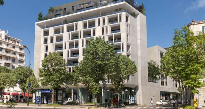 Achat / Vente programme immobilier neuf Marseille 08 avenue du Prado (13008) - Réf. 4316