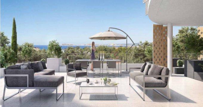 Achat / Vente programme immobilier neuf Marseille 08 proche secteur Saint-Anne (13008) - Réf. 2761