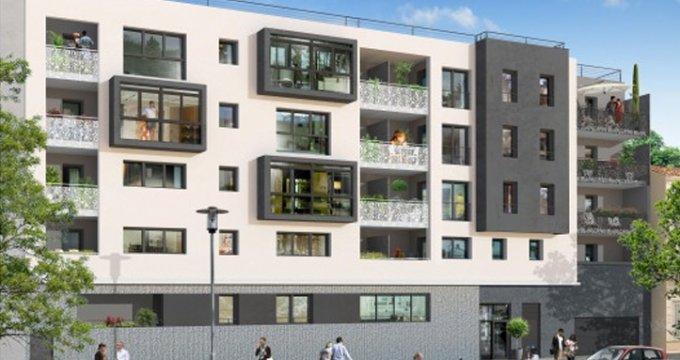 Achat / Vente programme immobilier neuf Marseille 10 proche jardin Guy Azais (13010) - Réf. 1015