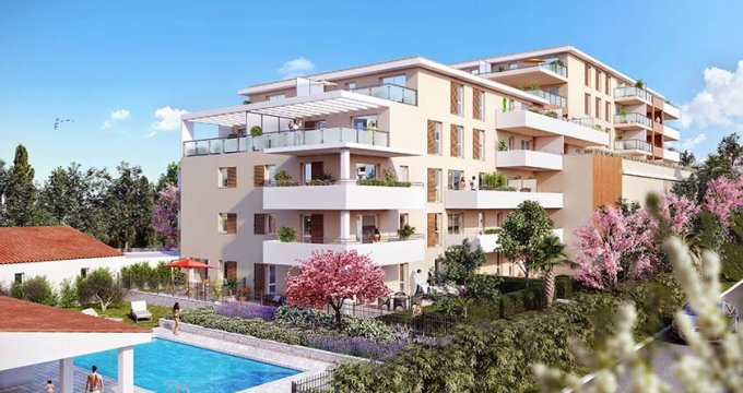 Achat / Vente programme immobilier neuf Marseille 12 proche Beaumont (13012) - Réf. 1716