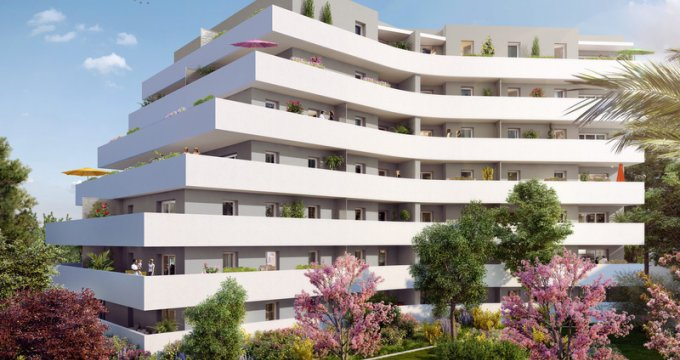 Achat / Vente programme immobilier neuf Marseille 12 proche des commodités (13012) - Réf. 504