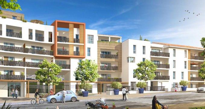 Achat / Vente programme immobilier neuf Marseille 14 Parc et pinède (13014) - Réf. 967