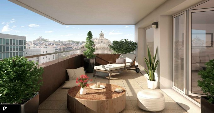Achat / Vente programme immobilier neuf Marseille 2 en face à la Cathédrale de la Major (13002) - Réf. 2335