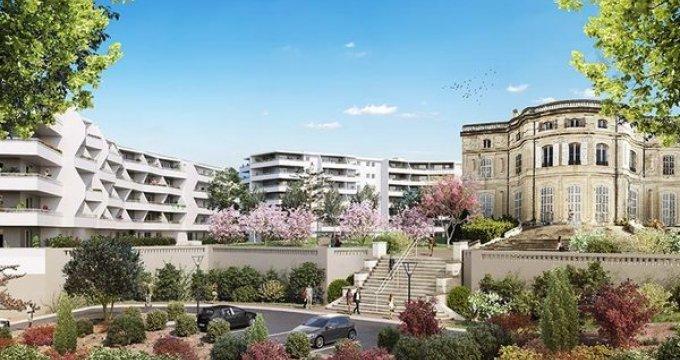 Achat / Vente programme immobilier neuf Marseille 9 proche du parc national des  Calanques (13009) - Réf. 2331