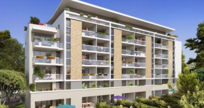 Achat / Vente programme immobilier neuf Marseille 9 quartier du Cabot (13009) - Réf. 813