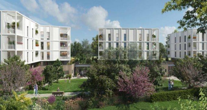 Achat / Vente programme immobilier neuf Marseille au pied du parc Montgolfier (13014) - Réf. 4384