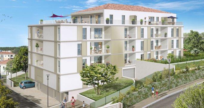 Achat / Vente programme immobilier neuf Marseille quartier des Camoins (13011) - Réf. 1747