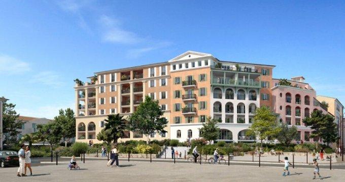 Achat / Vente programme immobilier neuf Port-de-Bouc au cœur du port de plaisance (13110) - Réf. 5043