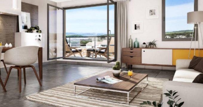 Achat / Vente programme immobilier neuf Rognes secteur calme proche des commodités (13840) - Réf. 4595