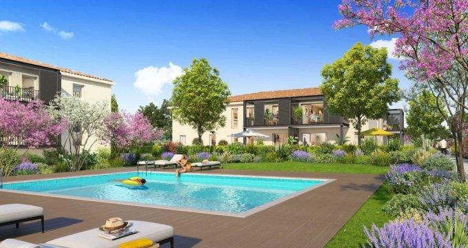 Achat / Vente programme immobilier neuf Saint-Cannat à 500 mètres du coeur de ville (13760) - Réf. 4028