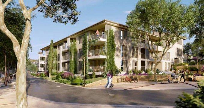 Achat / Vente programme immobilier neuf Saint-Cannat à deux pas du centre-ville (13760) - Réf. 4427