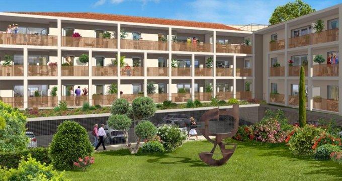Achat / Vente programme immobilier neuf Trets cœur de village (13530) - Réf. 4012