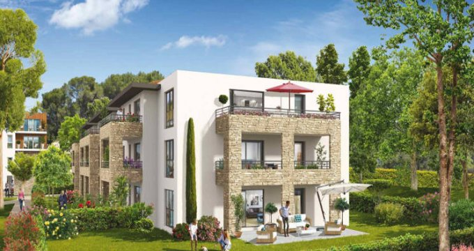 Achat / Vente programme immobilier neuf Ventabren proche groupe scolaire Edouard Peisson (13122) - Réf. 3856