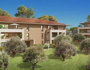 Achat / Vente programme immobilier neuf Aix-en-Provence au sein d'un environnement résidentiel et verdoyant (13090) - Réf. 4018