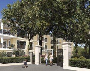 Achat / Vente programme immobilier neuf Aix-en-Provence proche parc Rambot (13090) - Réf. 5898