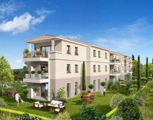 Achat / Vente programme immobilier neuf Gignac-la-Nerthe proche commodités du centre-ville (13180) - Réf. 1047