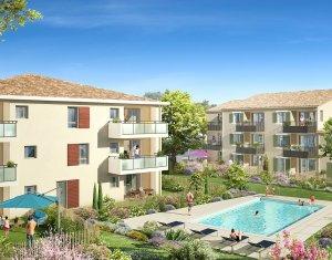 Achat / Vente programme immobilier neuf Le Puy-Sainte-Réparade proche de  Pertuis et Aix-en-Provence (13610) - Réf. 2507