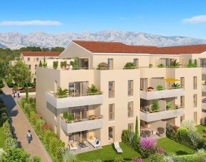 Achat / Vente programme immobilier neuf Rousset au pied de la Sainte-Victoire (13790) - Réf. 493