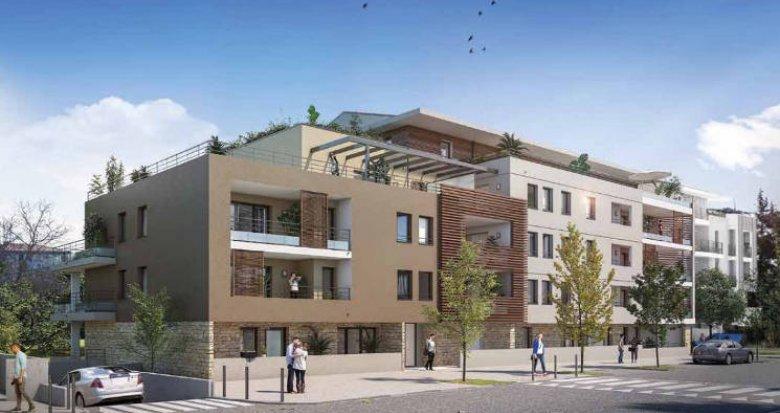 Achat / Vente programme immobilier neuf Aix-en-Provence à 2 km du cœur de ville (13090) - Réf. 4468