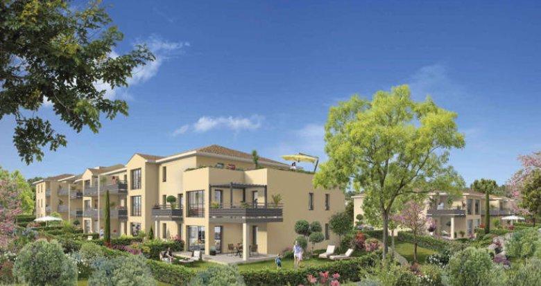 Achat / Vente programme immobilier neuf Aix-en-Provence à 3 km du centre (13090) - Réf. 4438