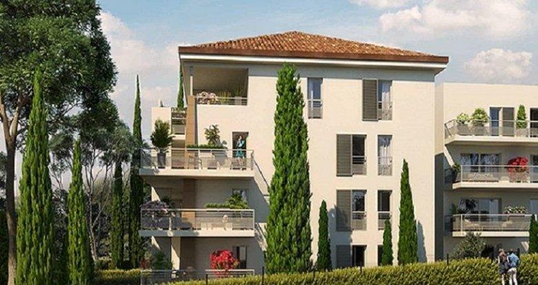 Achat / Vente programme immobilier neuf Aix-en-Provence à deux pas du centre (13090) - Réf. 2020