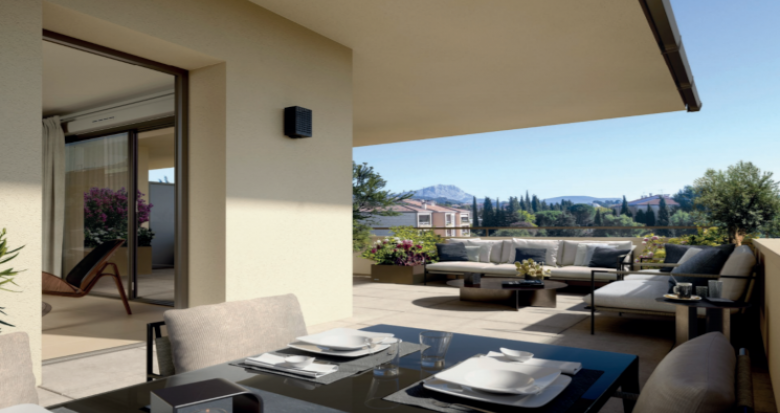 Achat / Vente programme immobilier neuf Aix-en-Provence à moins de 5min de la gare (13090) - Réf. 5472