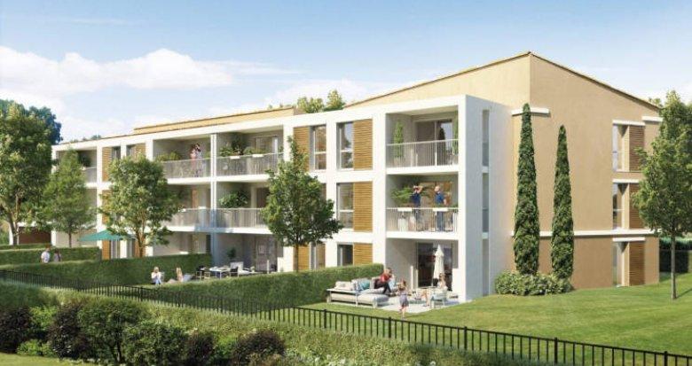 Achat / Vente programme immobilier neuf Aix en Provence au pied de la Sainte-Victoire (13090) - Réf. 3038