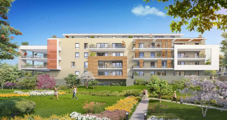 Achat / Vente programme immobilier neuf Aix-en-Provence coeur secteur Saint-Anne (13090) - Réf. 2812