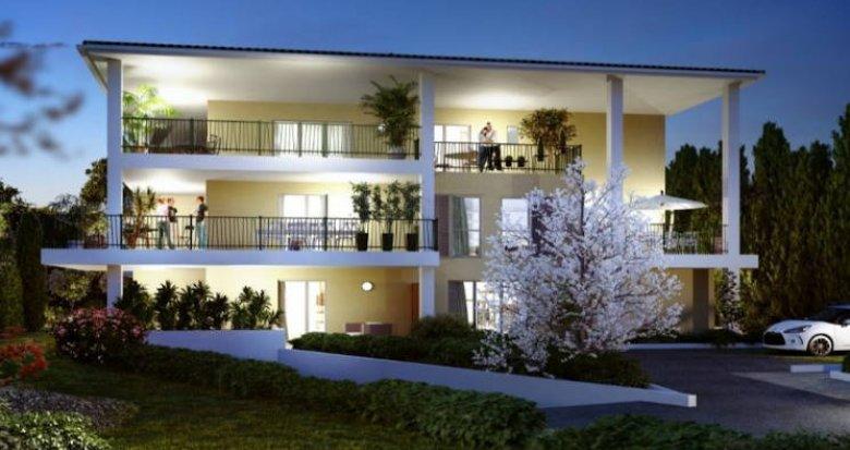 Achat / Vente programme immobilier neuf Aix-en-Provence proche centre-ville (13090) - Réf. 4576