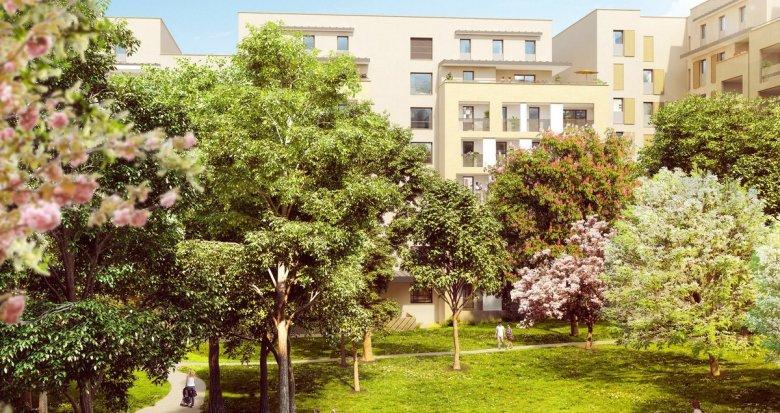 Achat / Vente programme immobilier neuf Aix-en-Provence proche centre-ville (13090) - Réf. 1584