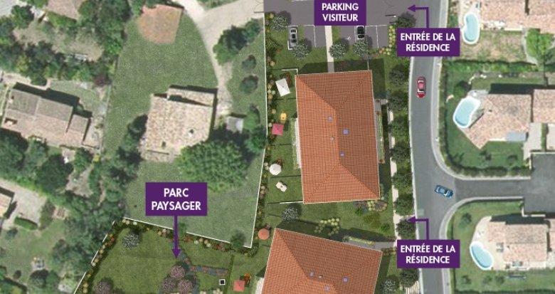 Achat / Vente programme immobilier neuf Aix-en-Provence proche Parc Saint-Mitre (13090) - Réf. 314