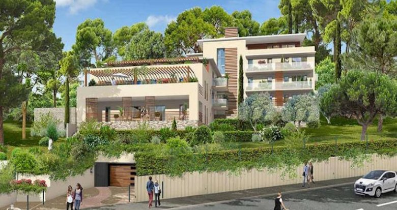 Achat / Vente programme immobilier neuf Aix-en-Provence quartier Beauregard (13090) - Réf. 4477