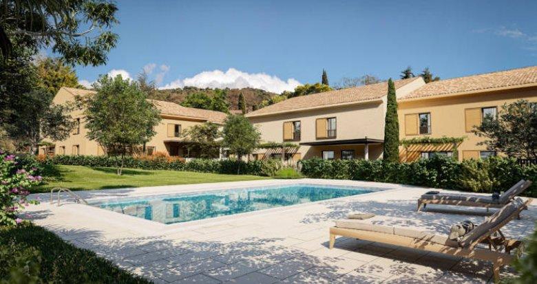 Achat / Vente programme immobilier neuf Aix-en-Provence quartier calme de Luynes (13090) - Réf. 5913