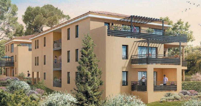 Achat / Vente programme immobilier neuf Aix-en-Provence quartier Pey-Blanc (13090) - Réf. 4901