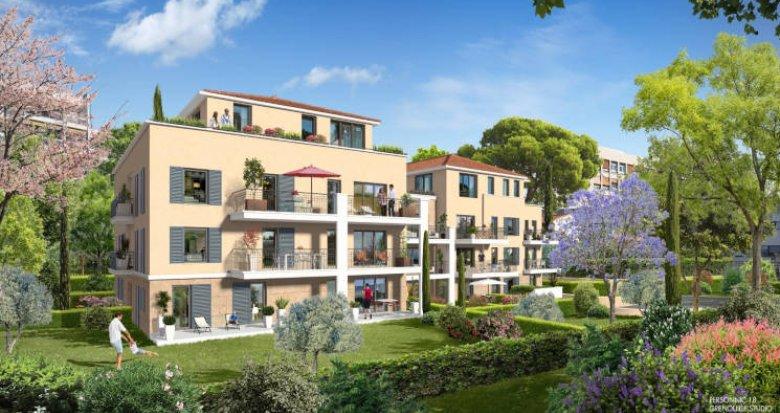 Achat / Vente programme immobilier neuf Aix en Provence secteur de Tamaris (13090) - Réf. 3037