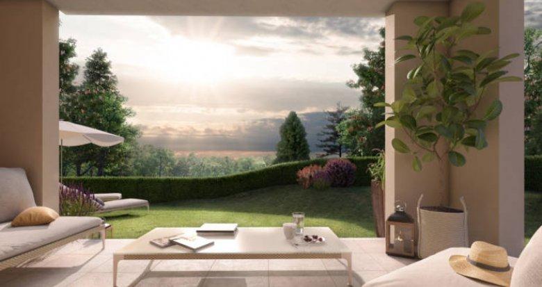Achat / Vente programme immobilier neuf Aix-en-Provence secteur Puyricard (13090) - Réf. 3023