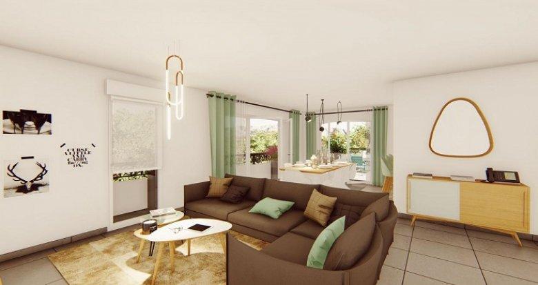 Achat / Vente programme immobilier neuf Aix-en-Provence vue Sainte-Victoire (13090) - Réf. 4887