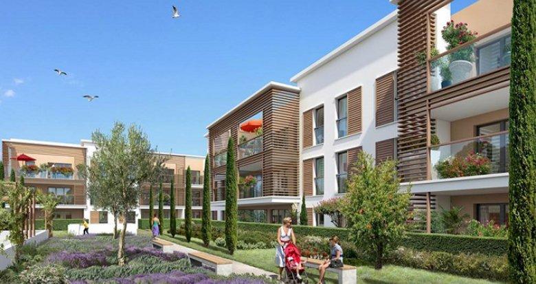 Achat / Vente programme immobilier neuf Aix-en-Provence ZAC de la Duranne (13090) - Réf. 549