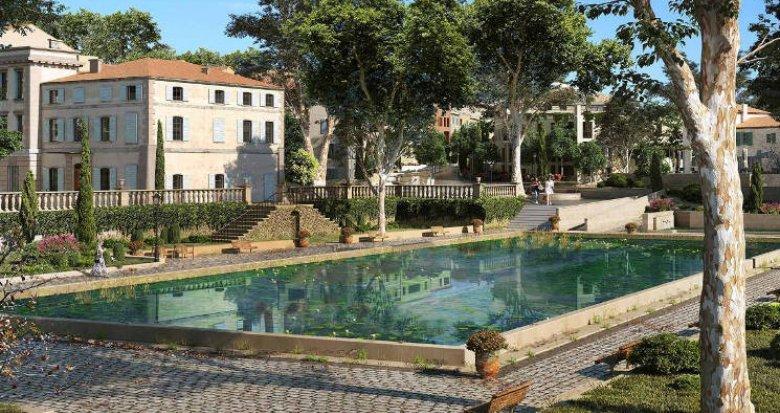 Achat / Vente programme immobilier neuf Aix-La Duranne proche école et commerces (13090) - Réf. 4278