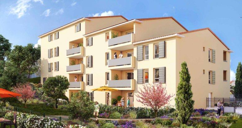 Achat / Vente programme immobilier neuf Allauch cœur village (13190) - Réf. 1928